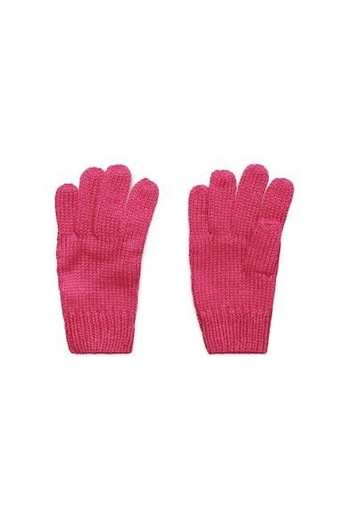 Esprit Manusi tricotate cu aplicatie logo Fete