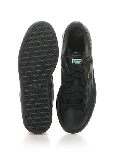 Puma Pantofi sport de piele Basket Barbati
