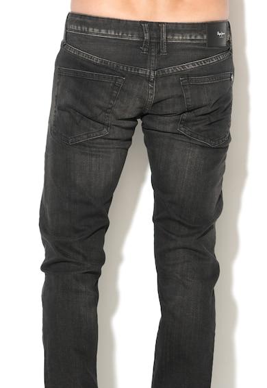 Pepe Jeans London Blugi slim fit cu talie joasa Hatch Barbati