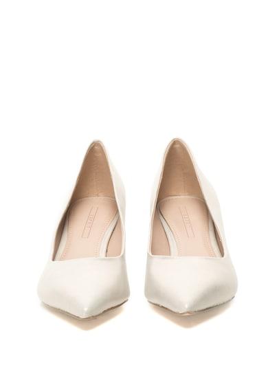 Esprit Pantofi de piele sintetica cu toc kitten Femei