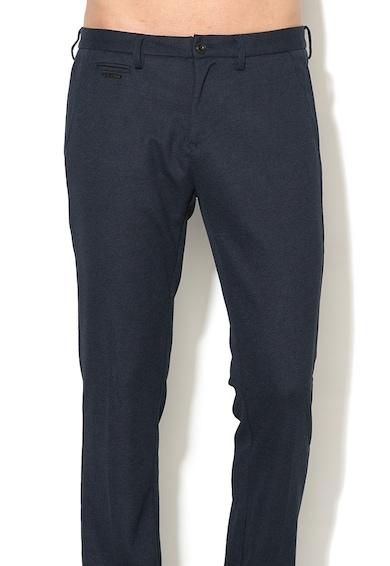 GUESS JEANS Pantaloni chino conici cu aspect texturat Alain Barbati