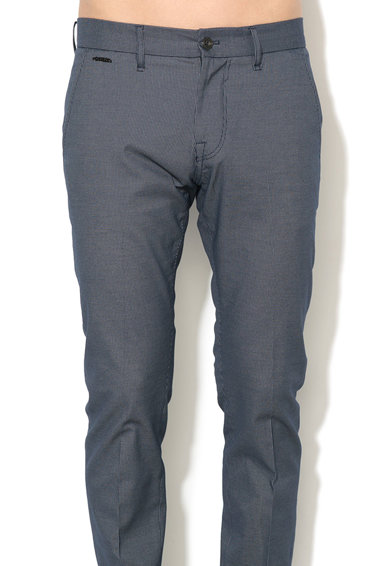 GUESS JEANS Pantaloni chino cu model discret Barbati