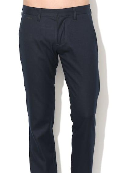 GUESS JEANS Pantaloni eleganti cu buzunar cu refilet pe partea din spate Barbati