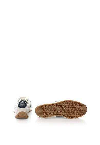 Le Coq Sportif Pantofi sport cu garnituri de piele intoarsa Quartz Nylon Gum, Unisex Barbati