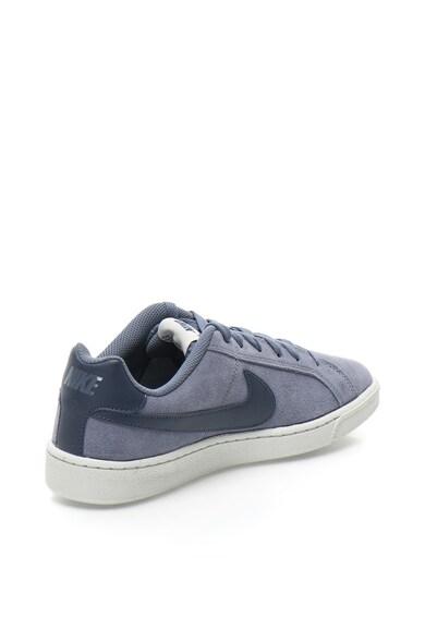 Nike Pantofi sport de piele intoarsa cu detalii de piele Court Royale Barbati