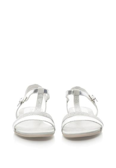 Marco Tozzi Sandale din piele sintetica cu aspect lucios Femei