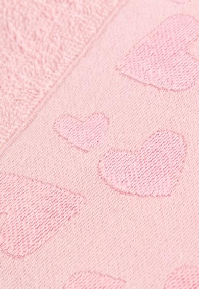 Soft Kiss Set 2 prosoape maini  50 x 90 cm, bumbac, Roz Femei