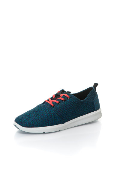 TOMS Pantofi sport din tricot si piele intoarsa Viaje Barbati