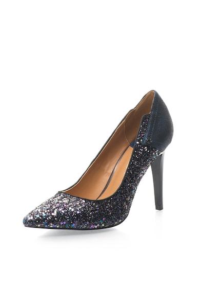 GAS Gwyneth Tengerészkék Cipő Csillámokkal női