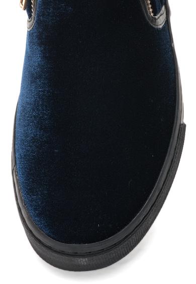 Gioseppo Pantofi slip-on bleumarin inchis catifelati Rolap Femei