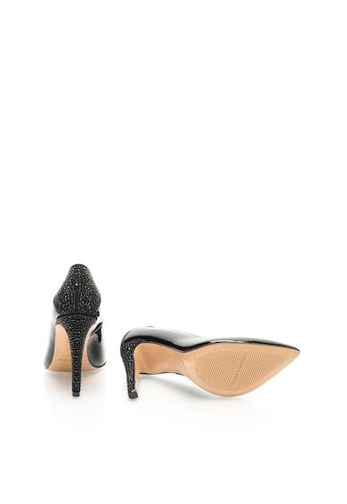 Roberto Botella Pantofi negri din piele cu toc stiletto Charol Femei