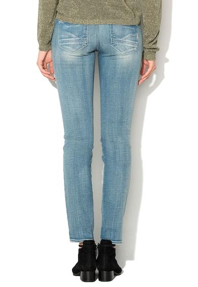 GAS Jeansi skinny albastri cu aspect deteriorat Sheyla Femei
