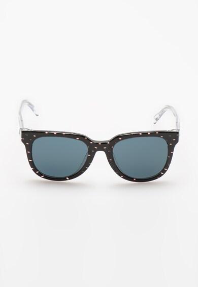 Diesel Ochelari de soare negru cu alb transparent pantografici Femei