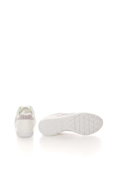 Le Coq Sportif Tenisi alb unt cu imprimeu multicolor Dynacomf Femei