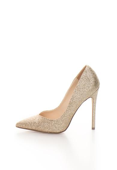 Steve Madden Pantofi stiletto aurii stralucitori Wicket Femei