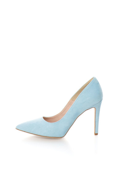 Oakoui Pantofi bleu de piele intoarsa sintetica Miriam Femei