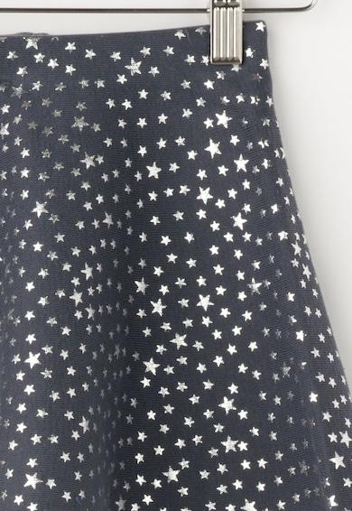 United Colors of Benetton Fusta bleumarin stins cu stele argintii Fete