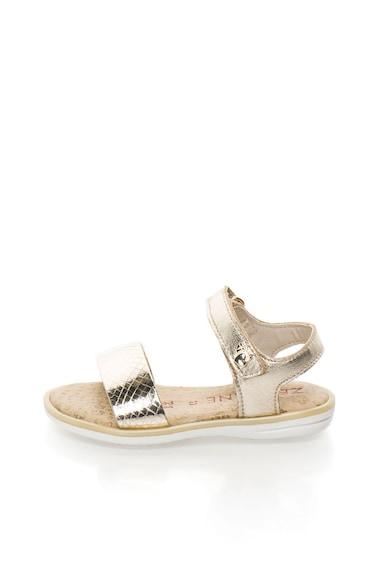 Zee Lane Sandale aurii de piele Fete