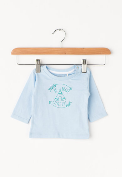 Esprit Bluza albastru azur cu imprimeu Baieti
