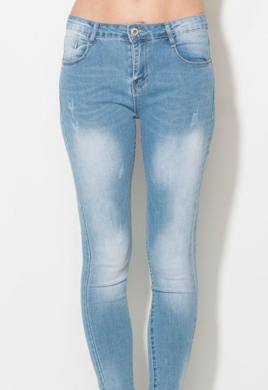 Zee Lane Denim Jeansi skinny bleu Femei