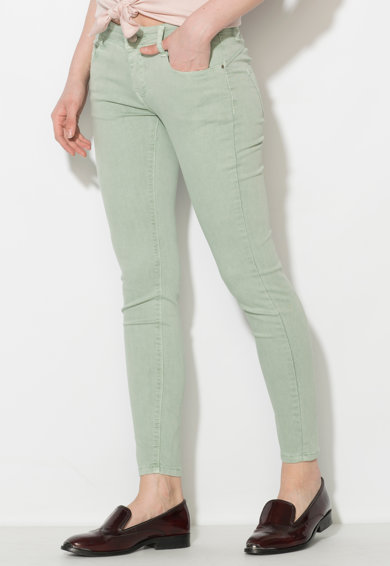 Zee Lane Denim Pantaloni conici verde celadon Femei