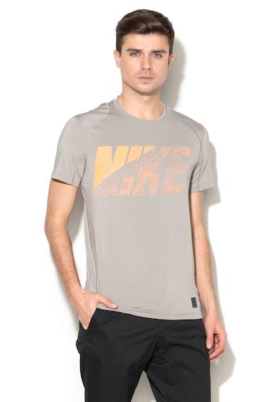 Nike Tricou cu decolteu rotund cu aplicatie logo Barbati