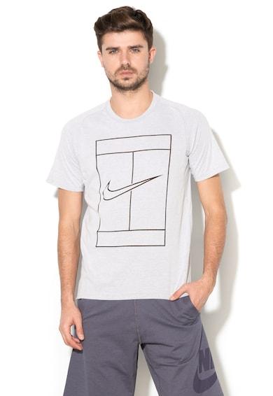 Nike Tricou cu imprimeu logo pentru tenis Barbati