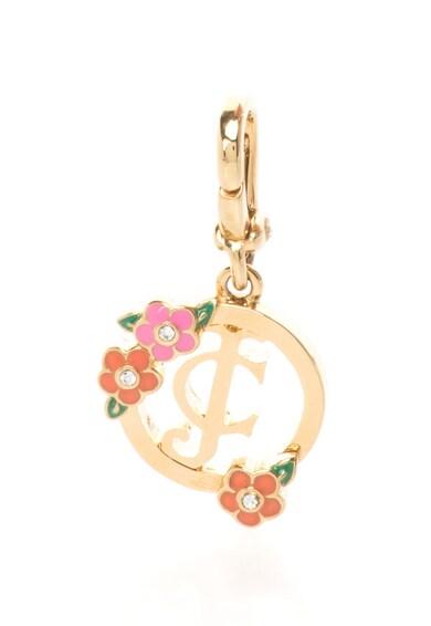 Juicy Couture Pandantiv auriu cu logo Femei