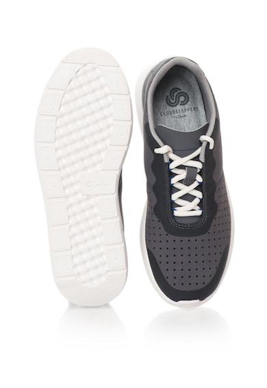 Clarks Pantofi sport in nuante de gri Torset Vibe Barbati