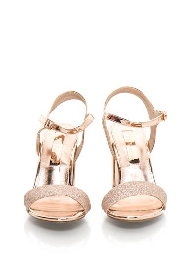 Xti Sandale auriu rose stralucitoare Femei
