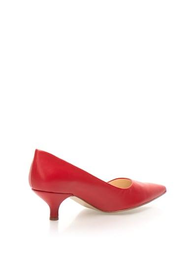 Zee Lane Pantofi rosii de piele cu toc kitten Only Femei