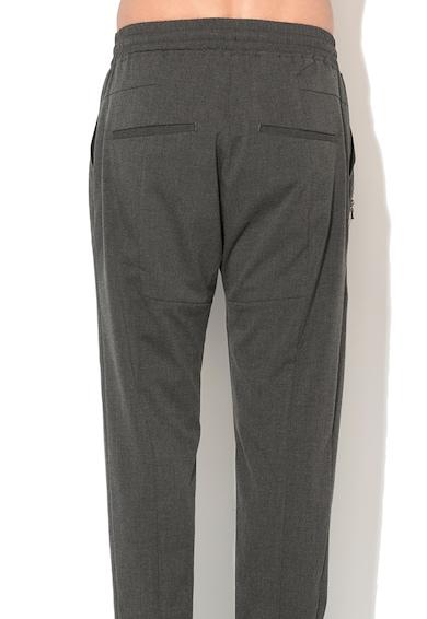 Zee Lane Denim Pantaloni conici gri inchi Barbati