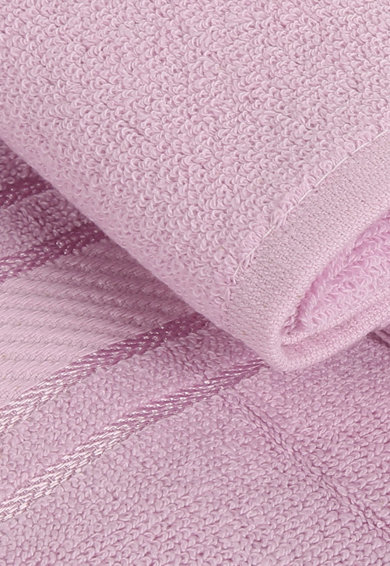 Leunelle Set de prosoape roz deschis pentru maini Orient - 2 piese Femei