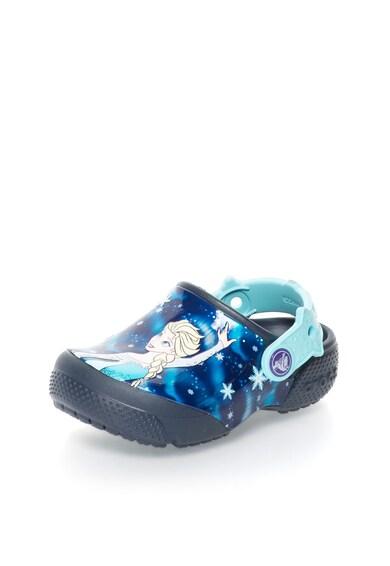 Crocs Saboti slingback multicolori cu tematica Frozen™ Baieti