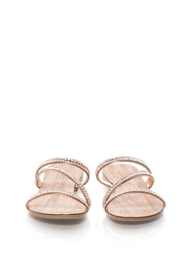 Esprit Papuci auriu rose cu barete si strasuri Nil Femei