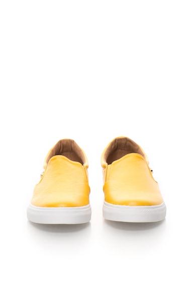Love Moschino Pantofi slip-on galbeni Femei