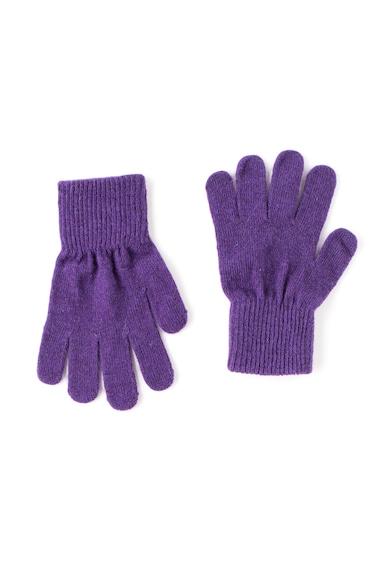 CeLaVi Manusi violet din amestec de lana Fete