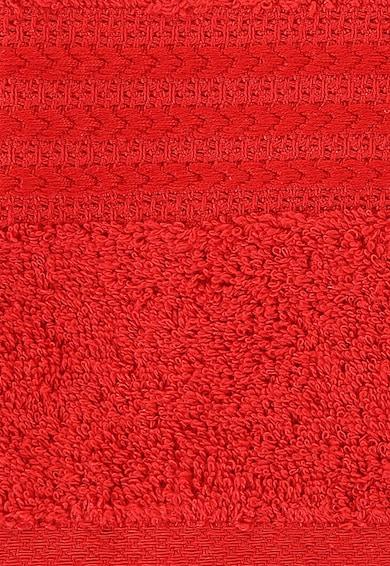 Leunelle Set de prosoape rosii cu broderie tematica - 2 piese Femei