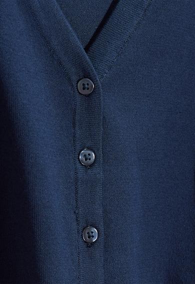 NEXT Cardigan bleumarin de bumbac cu decolteu in V Fete