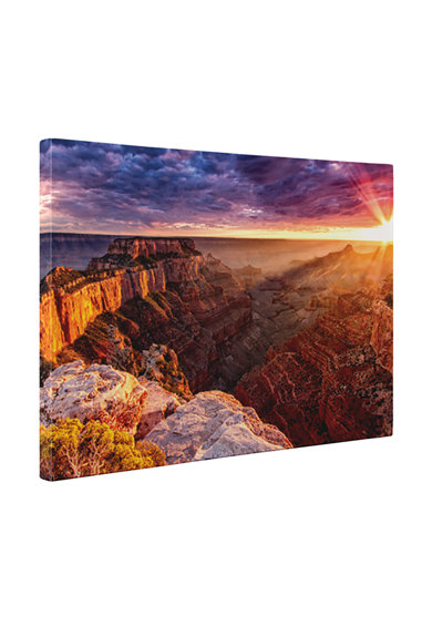 4Decor Tablou de panza Grand Canyon Femei