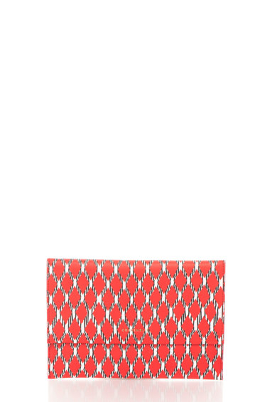 COCCINELLE Geanta plic tricolora Femei