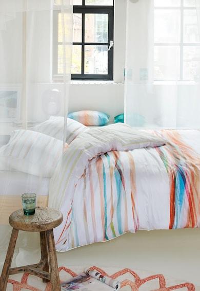 Esprit Lenjerie de pat cu model in dungi Wasa, Multicolor Femei