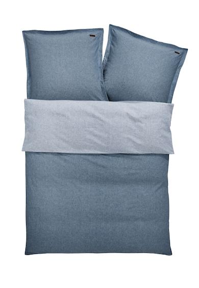 s.Oliver Set de pat in doua nuante de albastru de chambray  Femei
