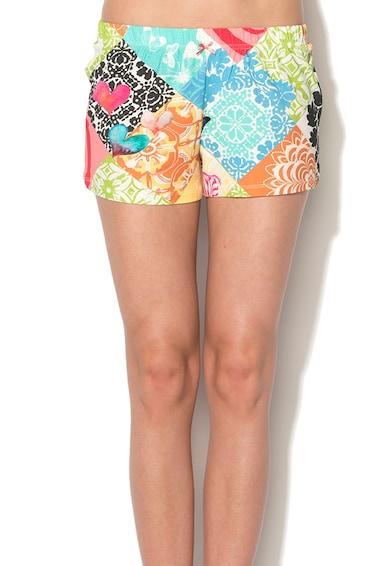 DESIGUAL Pantaloni scurti multicolori pentru casa Bolimania Femei