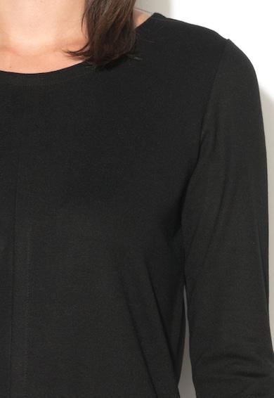 DESIGUAL Rochie neagra cu insertie colorata Alexia Femei