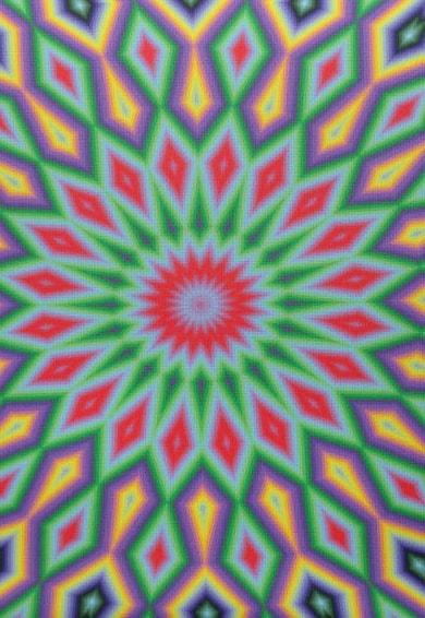 Leunelle Husa multicolora pentru perna decorativa Mandala Femei
