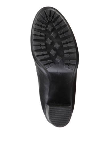 Versace 19.69 Abbigliamento Sportivo Botine negre cu insertii elastice Emmanuelle Femei