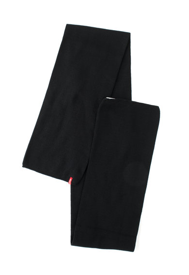 Levi's Fular negru cu doua straturi Femei