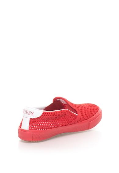 Guess Pantofi slip-on cu garnituri de plasa Fienn Fete