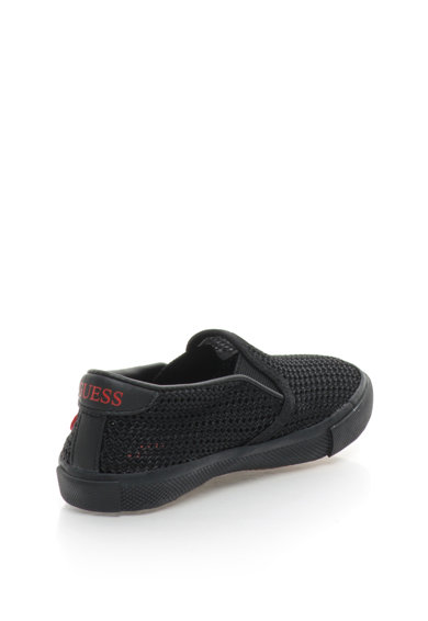 Guess Pantofi slip-on cu garnituri de plasa si logo pe partea din spate Fisa Fete